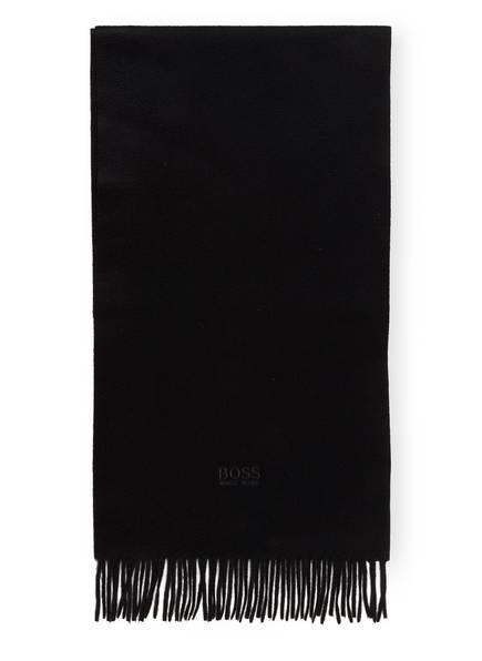 BOSS Cashmere-Schal, Farbe: SCHWARZ (Bild 1)