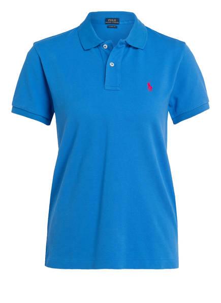POLO RALPH LAUREN Piqué-Poloshirt , Farbe: BLAU (Bild 1)