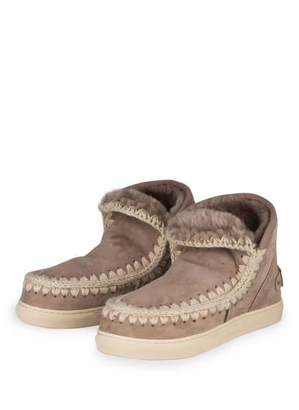 mou Boots ESKIMO MINI, Farbe: TAUPE/ ECRU (Bild 1)