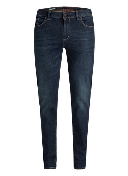 ALBERTO Jeans PIPE Regular Slim Fit, Farbe: DENIM DUNKELBLAU (Bild 1)