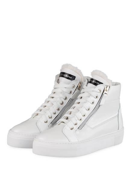 NO CLAIM Hightop-Sneaker EVA 14, Farbe: WEISS (Bild 1)
