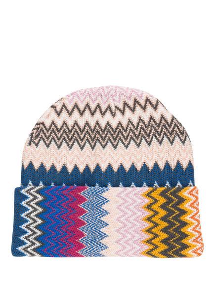 MISSONI Mütze, Farbe: BEIGE/ BLAU/ ROSA (Bild 1)