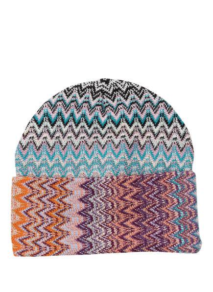 MISSONI Mütze, Farbe: LILA/ BLAU (Bild 1)