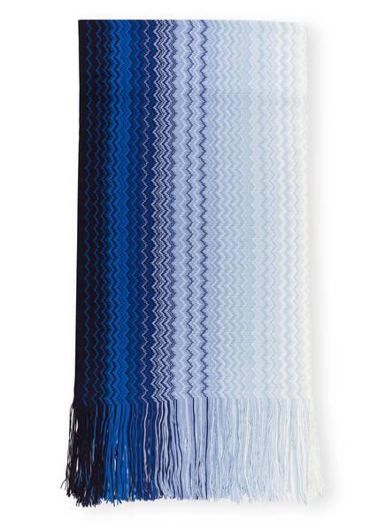 MISSONI Schal, Farbe: BLAU/ WEISS (Bild 1)