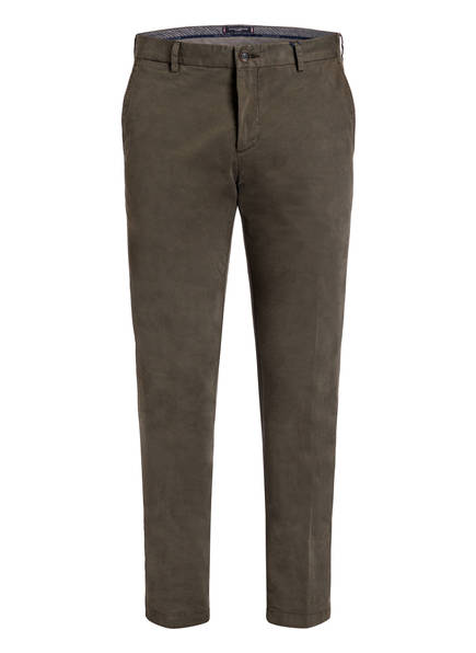 TOMMY HILFIGER Chino Slim Fit, Farbe: OLIV (Bild 1)