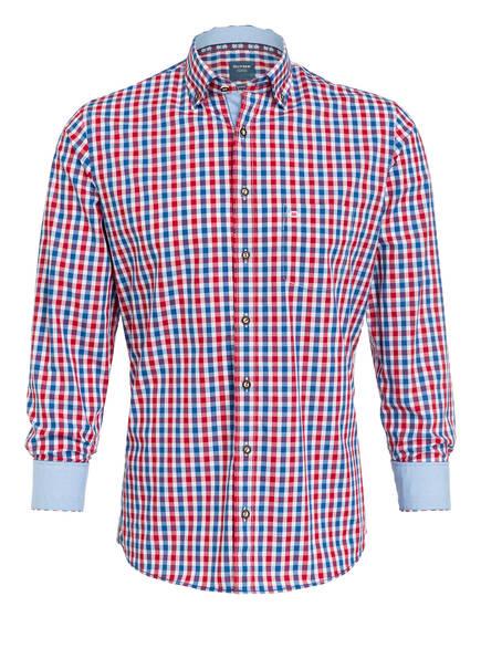 OLYMP Trachtenhemd , Farbe: ROT/ BLAU/ WEISS (Bild 1)