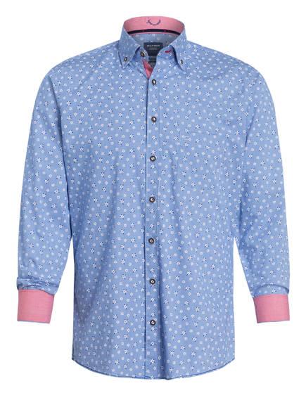 OLYMP Trachtenhemd, Farbe: BLAU/ WEISS (Bild 1)