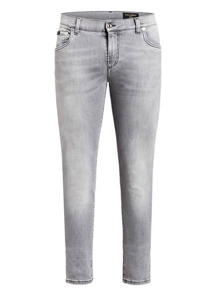 DOLCE&GABBANA Jeans Slim Fit , Farbe: HELLGRAU (Bild 1)