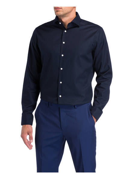seidensticker Hemd Tailored Fit DUNKELBLAU - Herrenbekleidung Beliebt