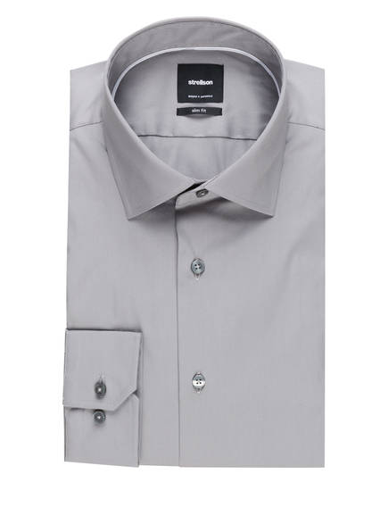 strellson Hemd Santos Slim Fit, Farbe: GRAU (Bild 1)