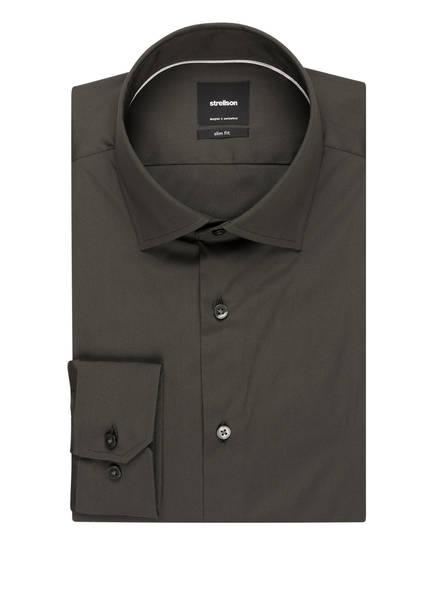 strellson Hemd Santos Slim Fit, Farbe: DUNKELGRÜN (Bild 1)