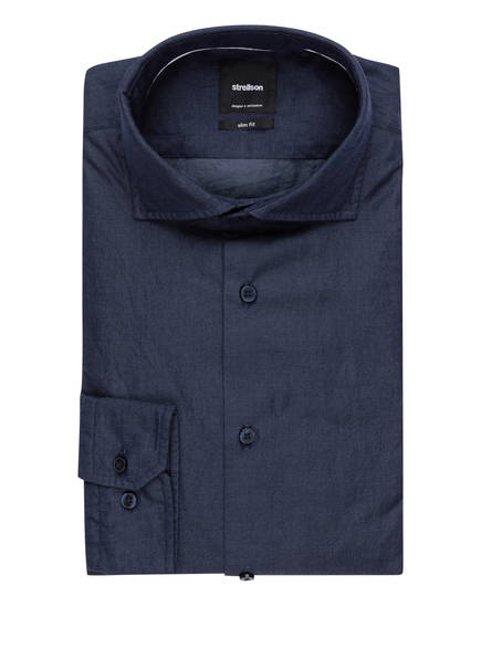 strellson Hemd SERENO Slim Fit, Farbe: DUNKELBLAU (Bild 1)