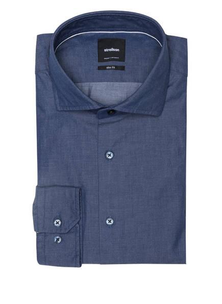 strellson Hemd SERENO Slim Fit, Farbe: BLAU (Bild 1)