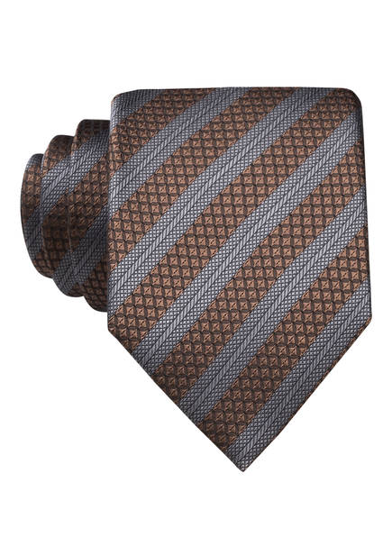 strellson Krawatte, Farbe: BRAUN/ GRAU (Bild 1)