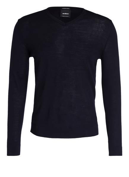 strellson Schurwoll-Pullover, Farbe: NAVY (Bild 1)