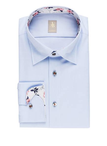 Jacques Britt Hemd MESSINA MIX Custom Fit, Farbe: HELLBLAU (Bild 1)
