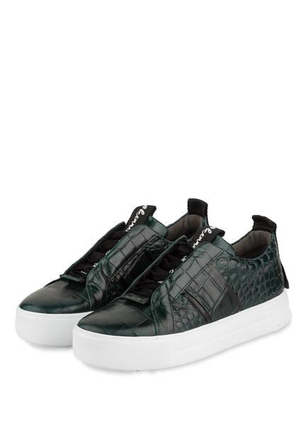 KENNEL & SCHMENGER Sneaker MEGA, Farbe: GRÜN/ SCHWARZ (Bild 1)