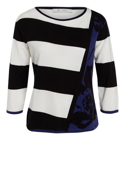 monari Pullover, Farbe: WEISS/ BLAU/ SCHWARZ (Bild 1)
