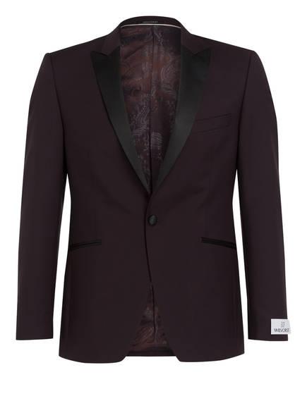 WILVORST Anzugsakko Extra Slim Fit , Farbe: DUNKELROT (Bild 1)