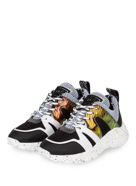 MÉLINÉ Sneaker , Farbe: SCHWARZ/ WEISS/ GELB (Bild 1)