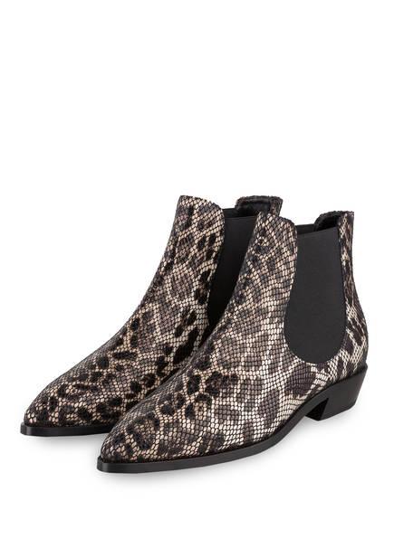 AGL ATTILIO GIUSTI LEOMBRUNI Chelsea-Boots, Farbe: TAUPE/ CREME/ SCHWARZ (Bild 1)