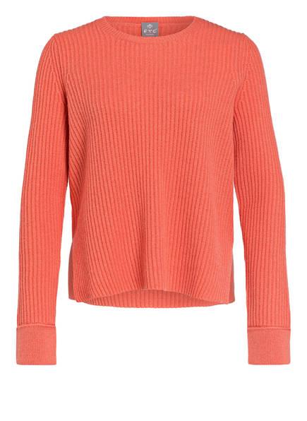 FTC CASHMERE Cashmere-Pullover, Farbe: LACHS (Bild 1)