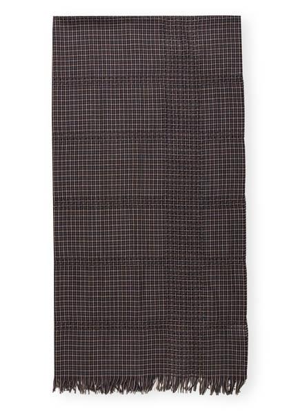 WEEKEND MaxMara Schal , Farbe: DUNKELBLAU/ BEIGE (Bild 1)