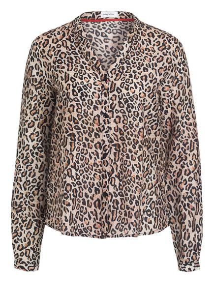 DARLING HARBOUR Bluse, Farbe: BEIGE/ SCHWARZ (Bild 1)