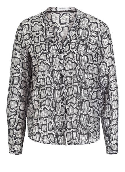 DARLING HARBOUR Bluse, Farbe: HELLGRAU/ SCHWARZ (Bild 1)