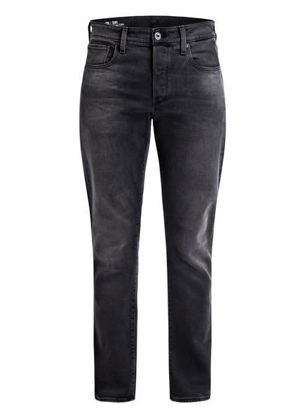 G-Star RAW Jeans 3301 Tapered Fit, Farbe: FADED CHARCOAL BLACK (Bild 1)