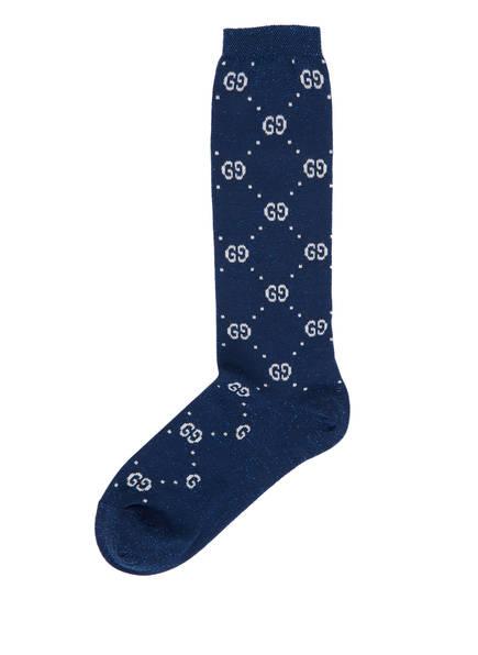 GUCCI Socken, Farbe: SAPPHIRE/ IVORY (Bild 1)