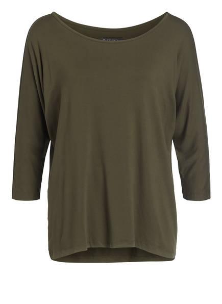 ESSENZA Lounge-Shirt DONNA mit 3/4-Arm, Farbe: OLIVE (Bild 1)