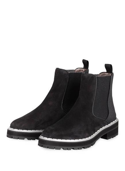 Pertini Chelsea-Boots, Farbe: SCHWARZ/ SILBER (Bild 1)