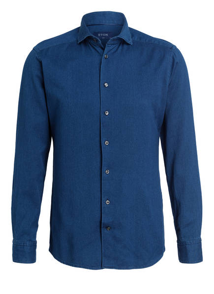 ETON Hemd Slim Fit, Farbe: PETROL (Bild 1)