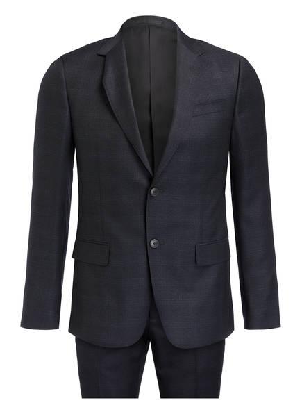 ZZegna Anzug DROP 8 Extra Slim Fit, Farbe: NAVY MELIERT (Bild 1)