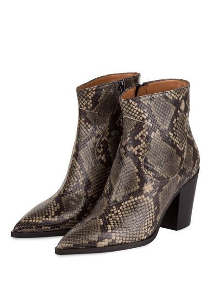 Bianca Di Cowboy Boots, Farbe: SCHWARZ/ KHAKI/ BEIGE (Bild 1)