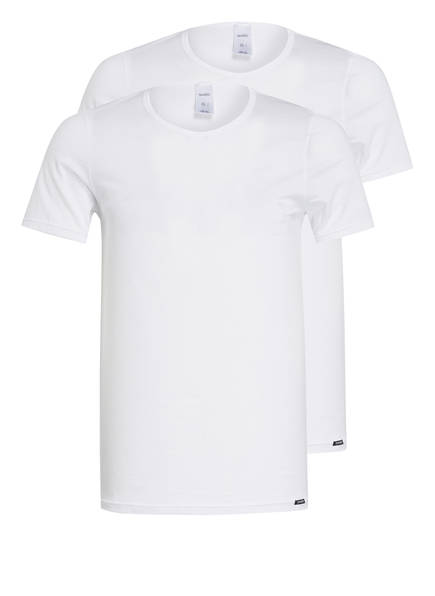 Skiny 2er-Pack T-Shirts, Farbe: WEISS (Bild 1)