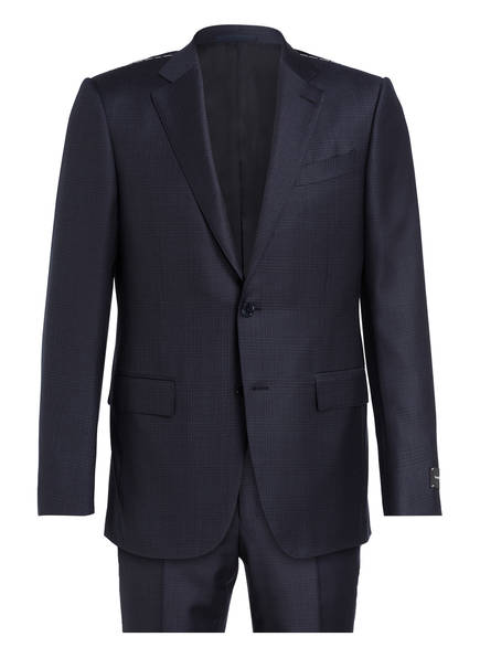 Ermenegildo Zegna Anzug MILANO Regular Fit, Farbe: DUNKELBLAU/ SCHWARZ (Bild 1)