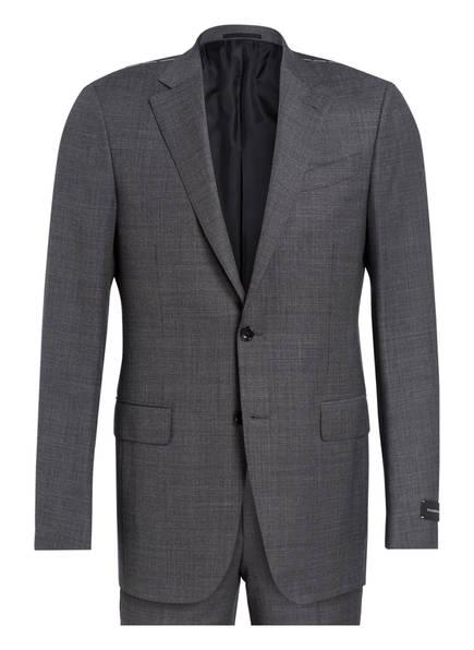 Ermenegildo Zegna Anzug MILANO Regular Fit, Farbe: DUNKELGRAU/ WEISS (Bild 1)