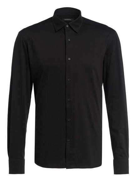 Ermenegildo Zegna Jersey-Hemd Regular Fit , Farbe: SCHWARZ (Bild 1)