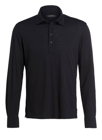 Ermenegildo Zegna Jersey-Poloshirt, Farbe: DUNKELBLAU (Bild 1)
