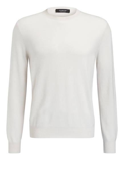 Ermenegildo Zegna Cashmere-Pullover, Farbe: HELLGRAU (Bild 1)