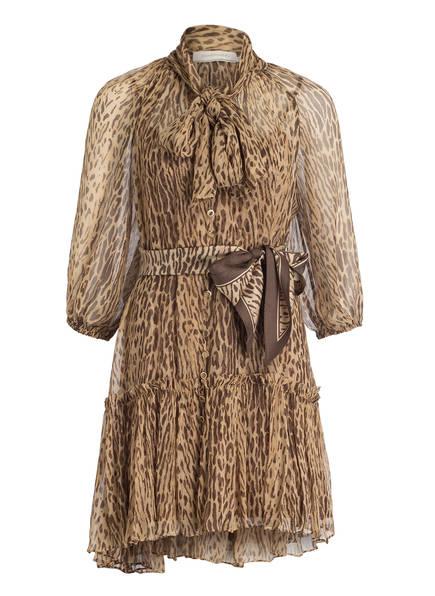 ZIMMERMANN Kleid ESPIONAGE , Farbe: BEIGE/ BRAUN (Bild 1)