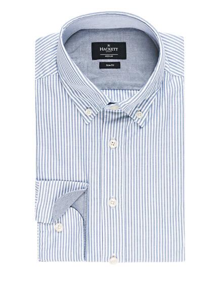 HACKETT LONDON Hemd BROMTON Slim Fit, Farbe: BLAU/ WEISS GESTREIFT (Bild 1)