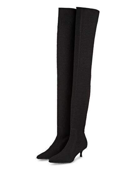 DOROTHEE SCHUMACHER Overknee-Stiefel, Farbe: SCHWARZ (Bild 1)