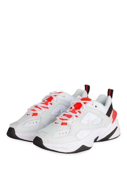 Nike Sneaker M2K TEKNO, Farbe: WEISS/ NEONROT/ SCHWARZ (Bild 1)