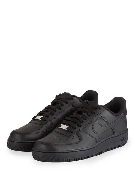 Nike Sneaker AIR FORCE 1 '07, Farbe: SCHWARZ (Bild 1)