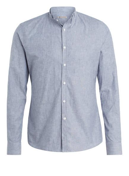 Gottseidank Trachtenhemd LENZ, Farbe: HELLBLAU/ MELIERT (Bild 1)