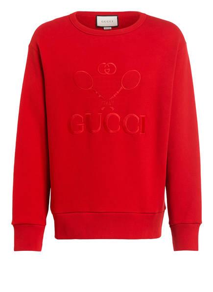 GUCCI Oversized-Sweatshirt, Farbe: ROT (Bild 1)