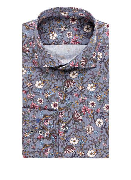 van Laack Hemd RIVARA Tailored Fit, Farbe: WEISS/ DUNKELBLAU (Bild 1)